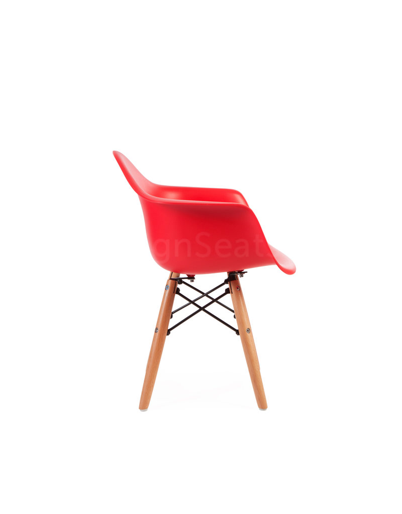 DAW Eames Kids chair Tomato Red