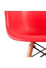 DAW Eames Kinderstoel Tomaten Rood