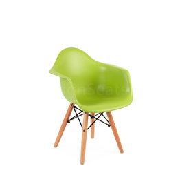 DAW Eames Kids chair Limegreen