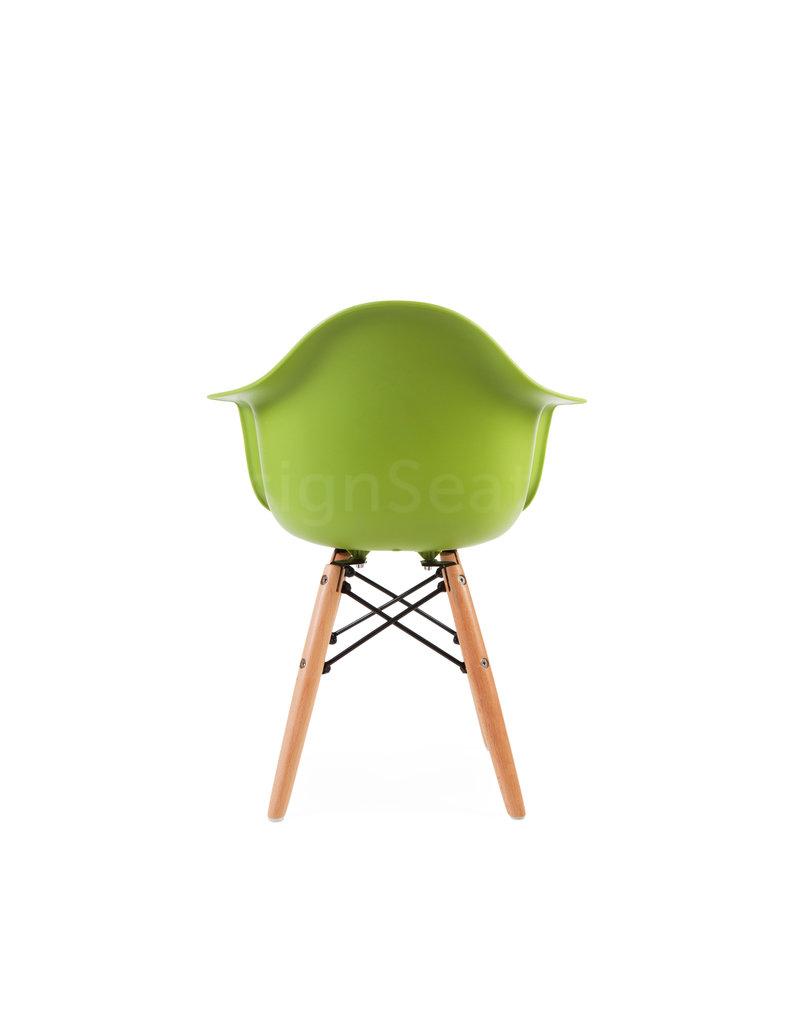 DAW Eames Kinderstoel Limegroen
