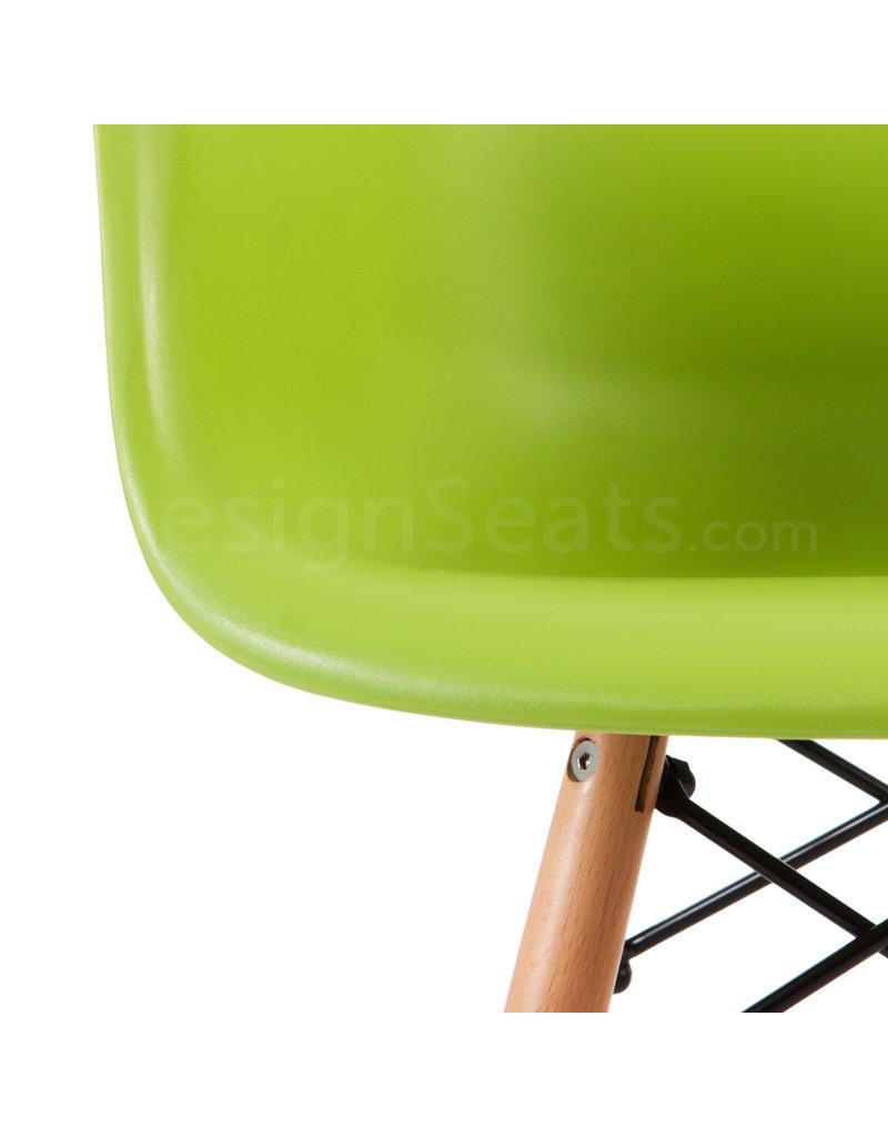 DAW Eames Kids chair Limegreen