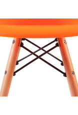 DAW Eames Kids chair Bright orange