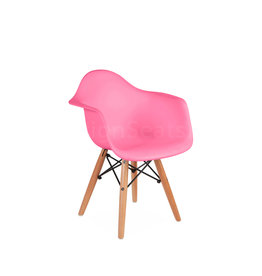 DAW Eames Kids chair Hot Pink