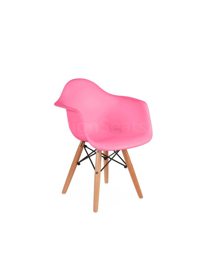 Stupendous Daw Eames Kids Chair Hot Pink Cjindustries Chair Design For Home Cjindustriesco