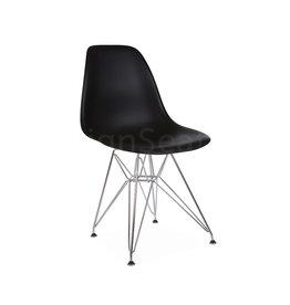 DSR Eames Kinderstoel Zwart