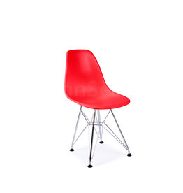 DSR Eames Kinderstoel Tomaten Rood