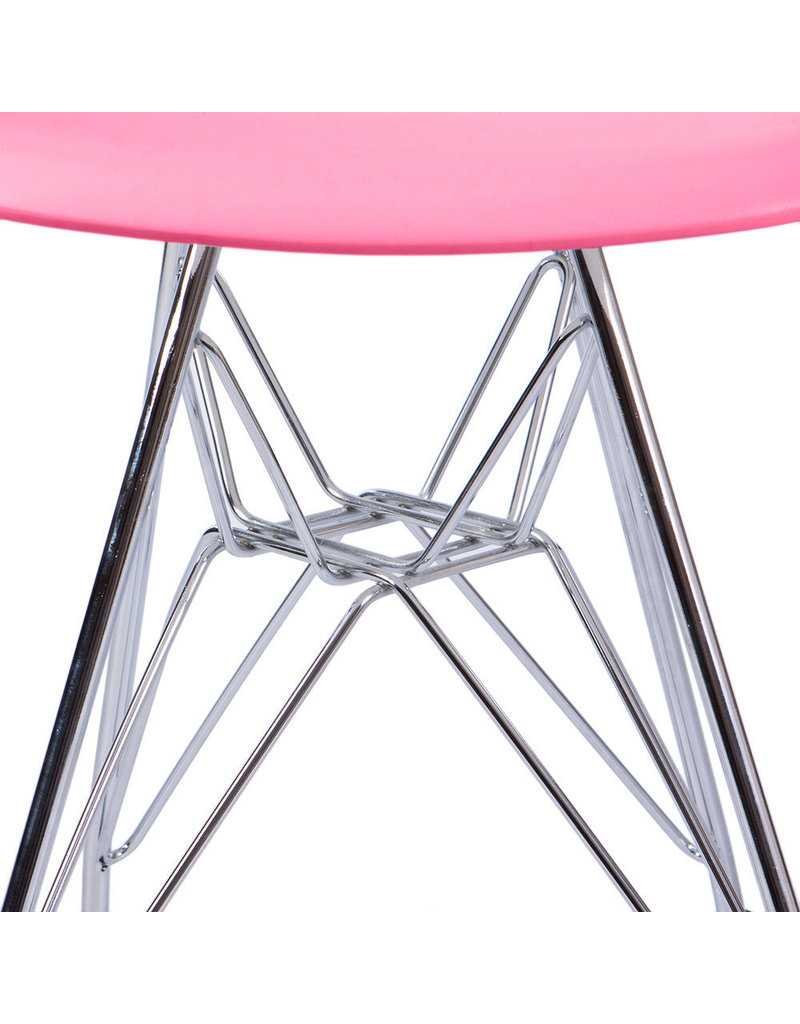 DSR Eames Kids chair Hot Pink