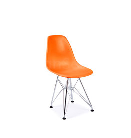 DSR Eames Kids chair Bright orange