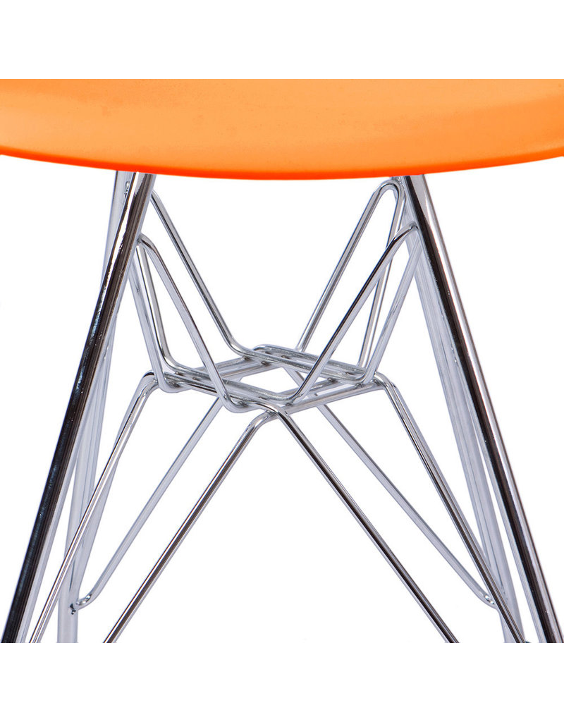 DSR Eames Kids chair Bright orange