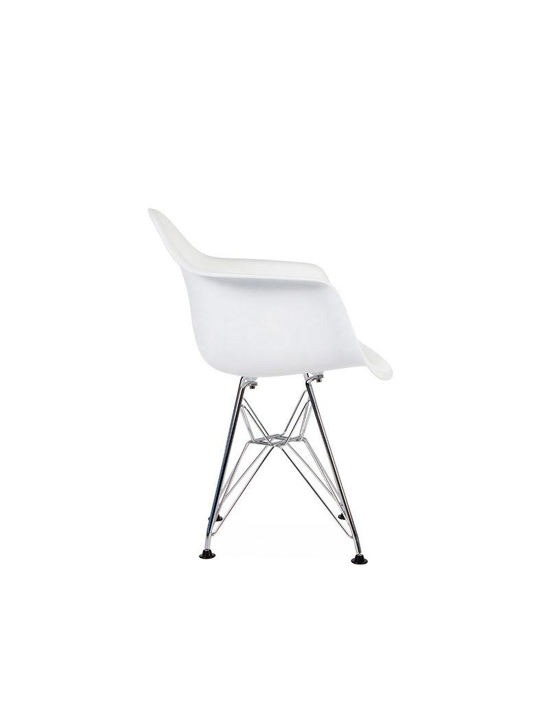 DAR Eames Kinderstoel Wit