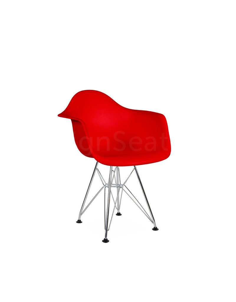 DAR Eames Kids chair Tomato Red