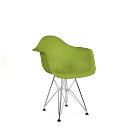 DAR Eames Kids chair Limegreen