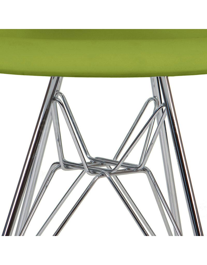 DAR Eames Kinderstoel Limegroen