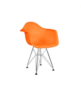 DAR Eames Kids chair Bright orange