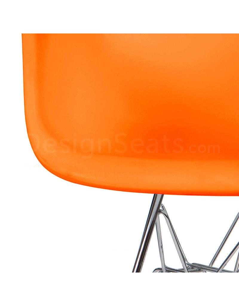 DAR Eames Kinderstoel Fel oranje