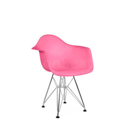 DAR Eames Kids chair Hot Pink
