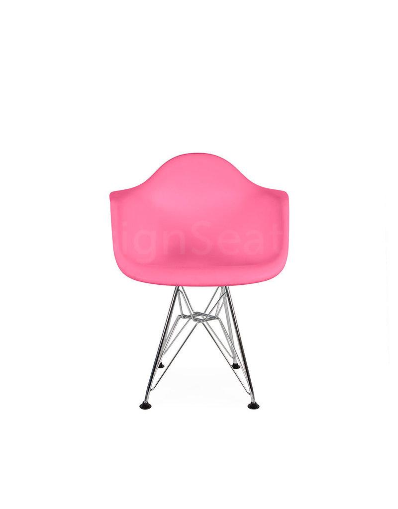 DAR Eames Kids chair Hot Pink