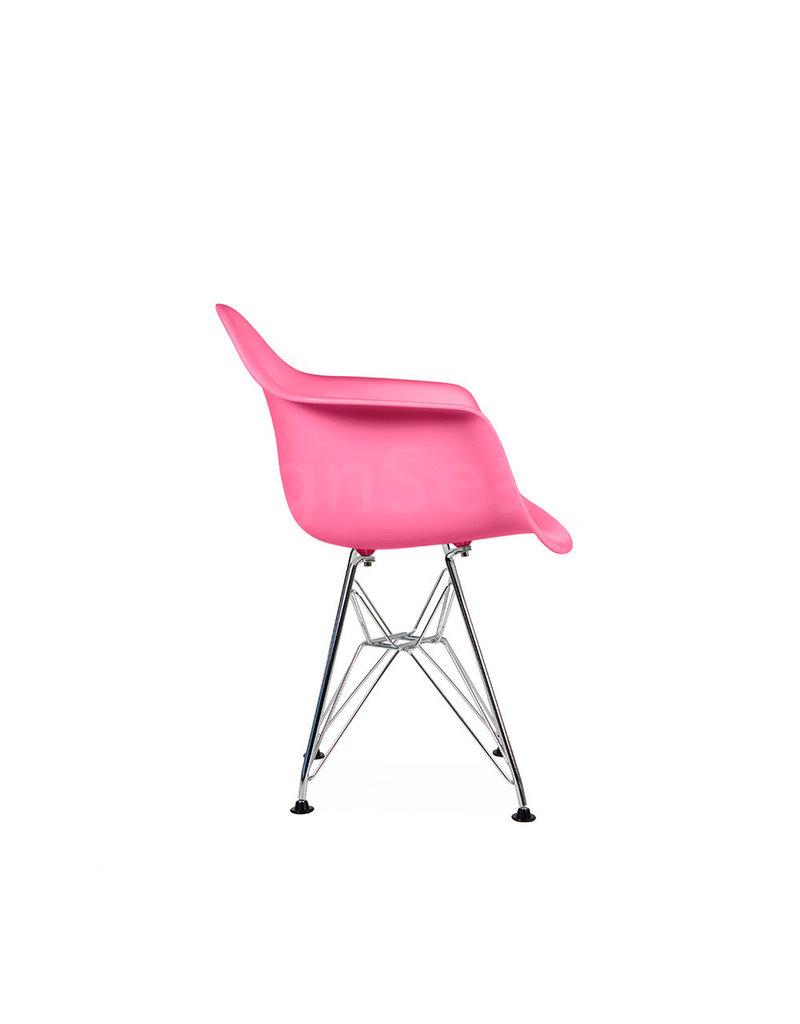 DAR Eames Kinderstoel Zuurstok roze
