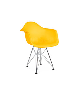 DAR Eames Kids chair Corn Yellow