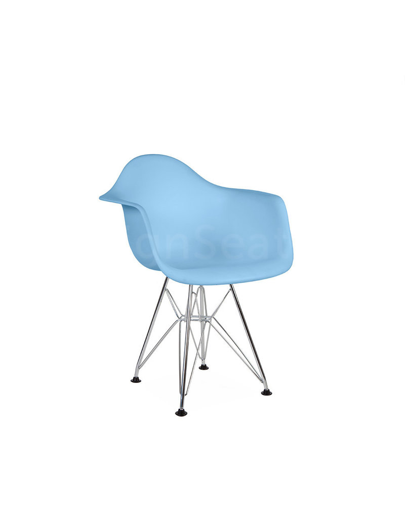 DAR Eames Kids chair Pastel baby blue