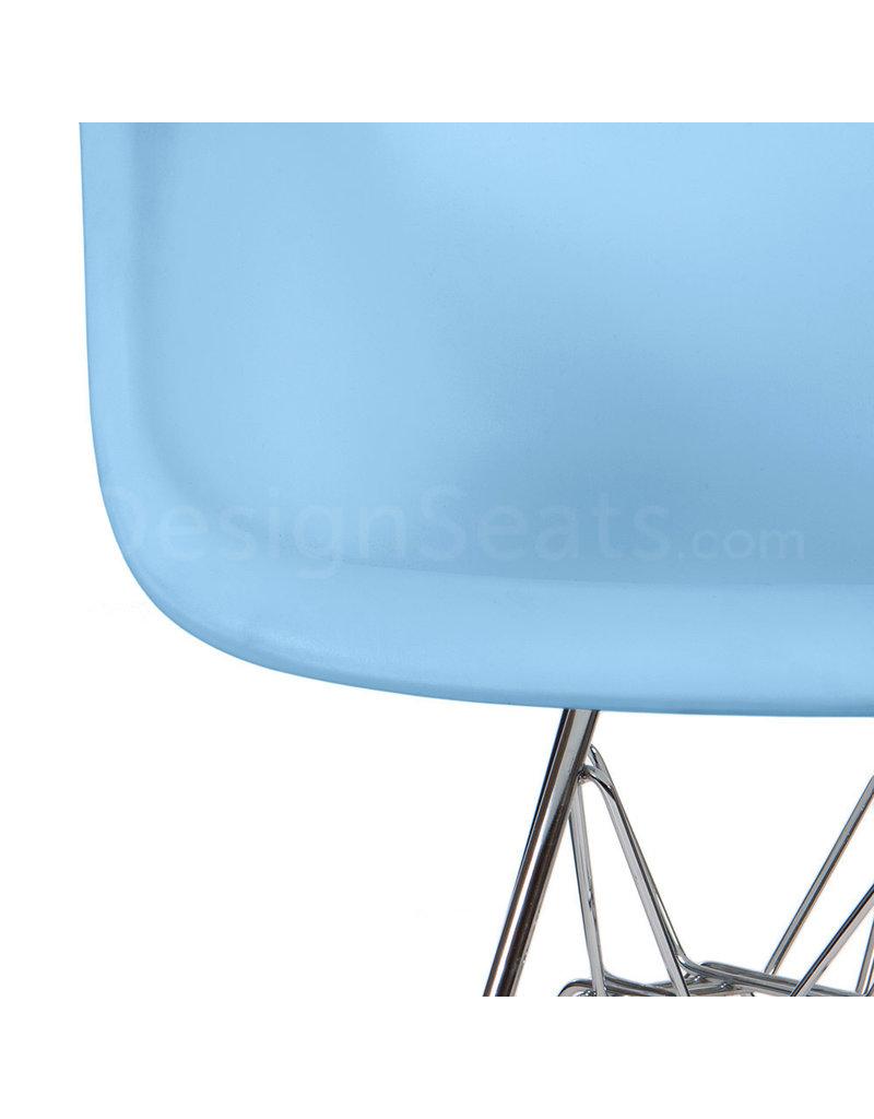 DAR Eames Kinderstoel Pastel baby blauw
