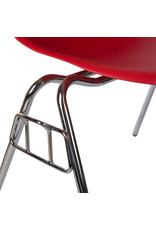 DSS Eames Design Stapelstoel Tomaten rood