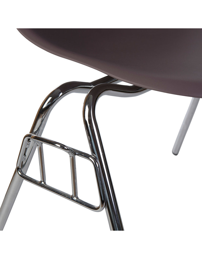 DSS Eames Design Stapelstoel Taupe