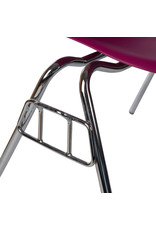 DSS Eames Design Stacking chair Cherry pink
