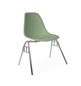 DSS Eames Design Stacking chair Pastelgreen