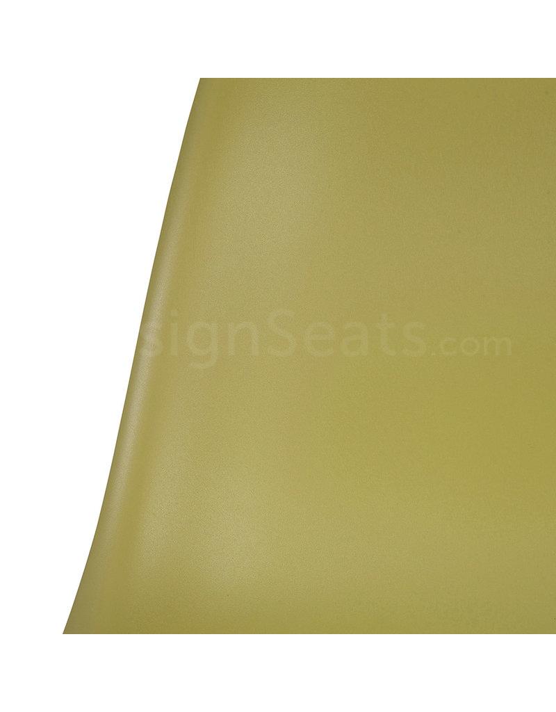 DSS Eames Design Stapelstoel Olijfgroen