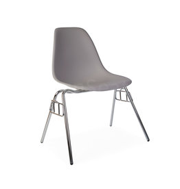 DSS Eames Design Stacking chair Light grey