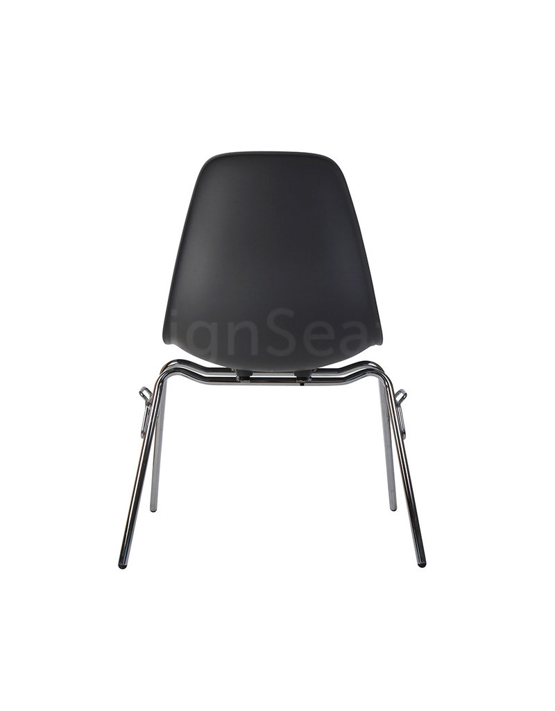 DSS Eames Design Stacking chair Dark grey