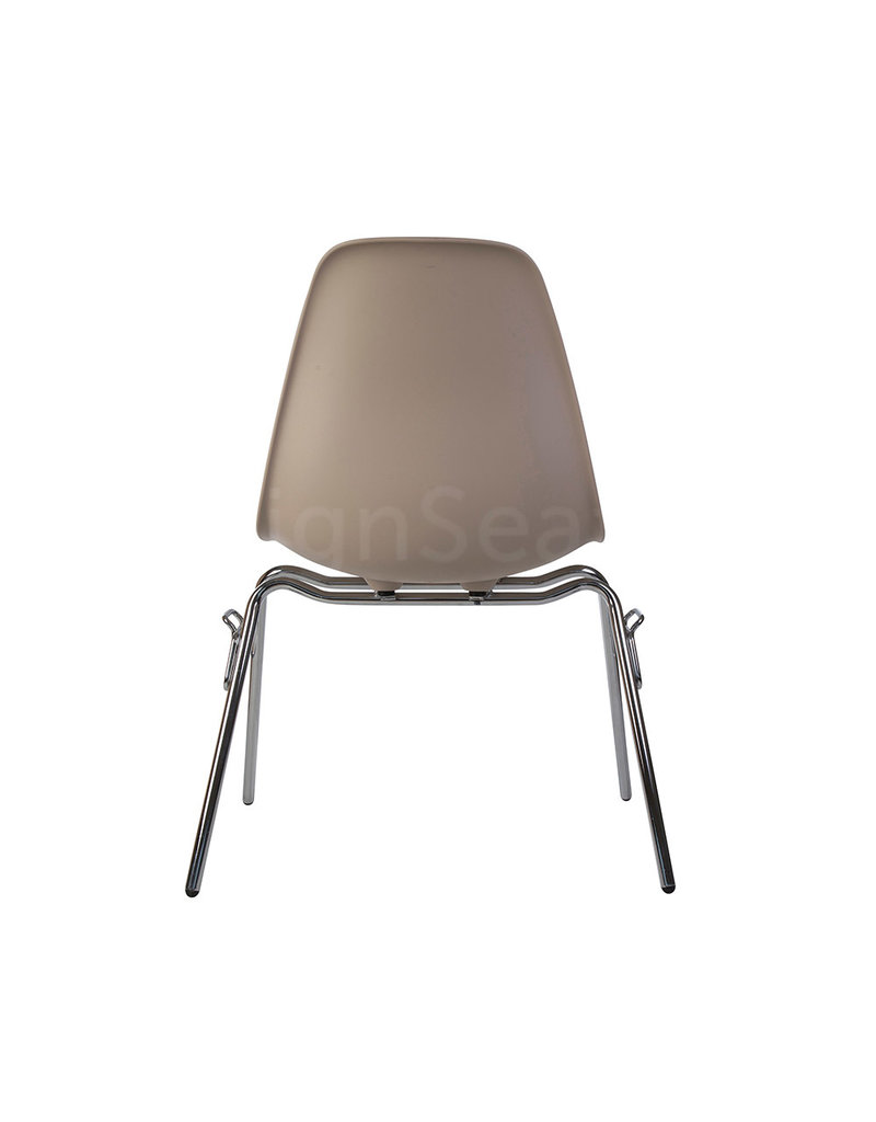 DSS Eames Design Stacking chair Beige