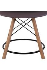 DAW BAR Eames Bar stool Taupe