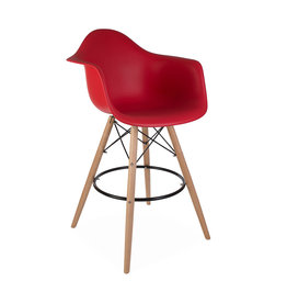 DAW BAR Eames Bar stool Tomato Red