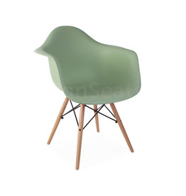 DAW Eames Design Chair Pastelgreen