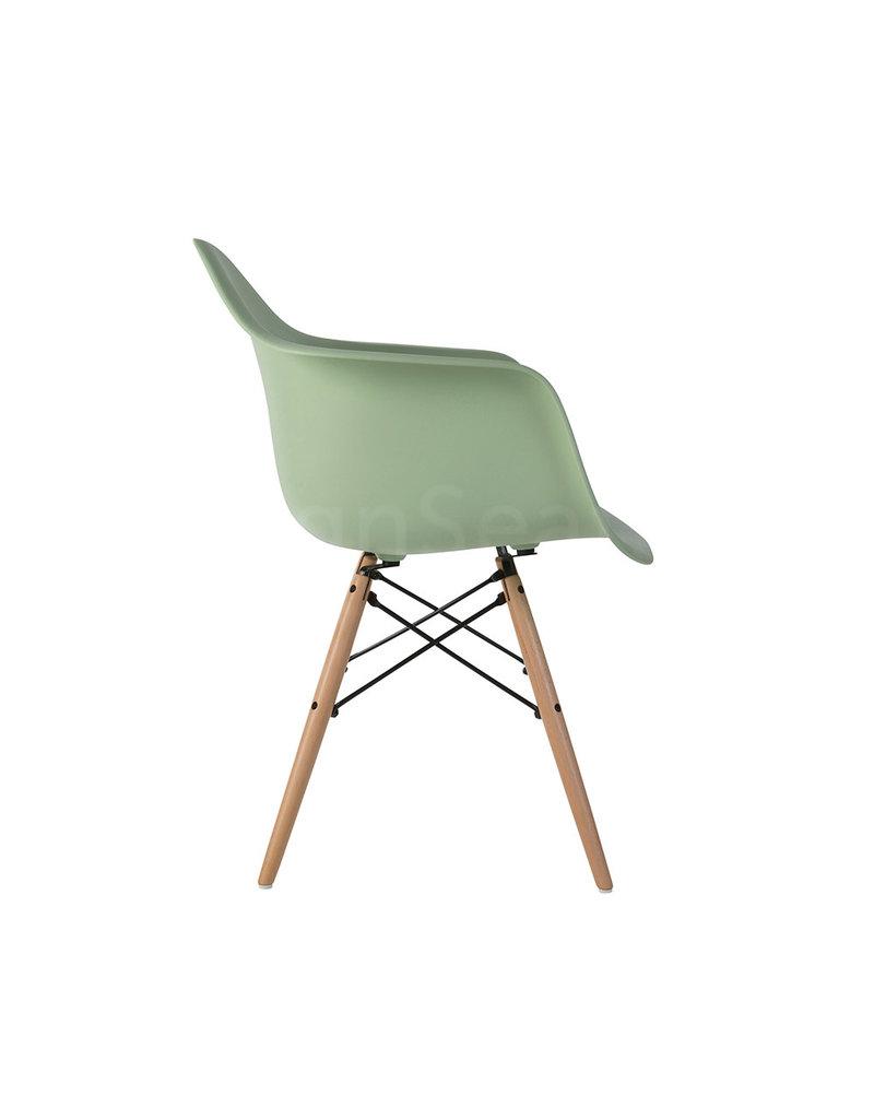 DAW Eames Design Chair Pastelgreen