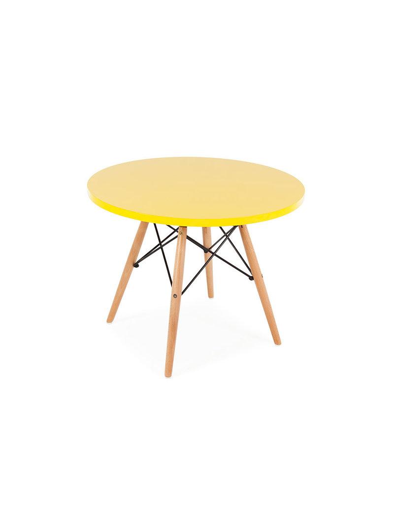 Kindertafel DSW rond 3 kleuren