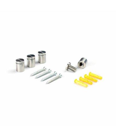 Indoor Afstandhouder RVS 10 mm (4 stuks)