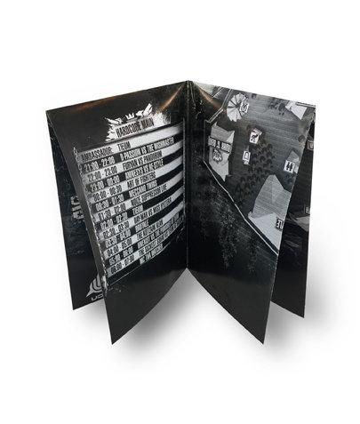 Folder A4 - tweebreuk kruisvouw - 135 gr