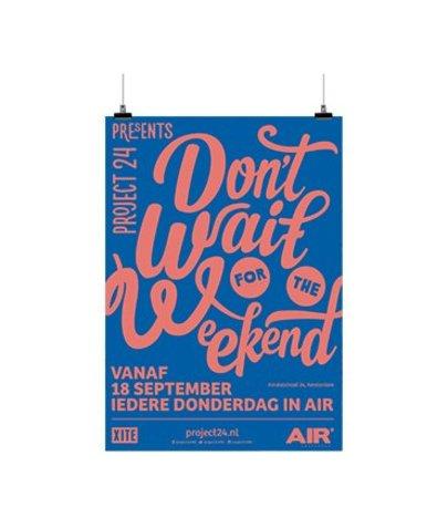 Poster A1 135 gr houtvrij gesatineerd mc