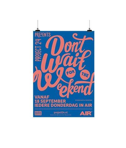 Poster B1 115 gr Blueback