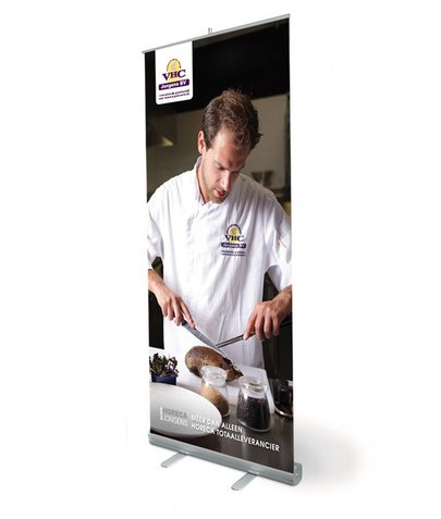 Roll up Banner XXL 200x200cm