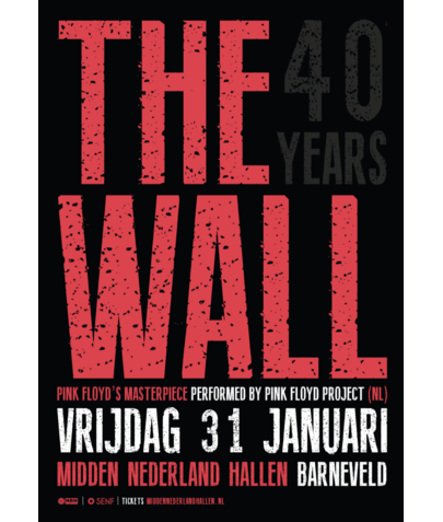 Flyer A5 250 gr (The Wall)