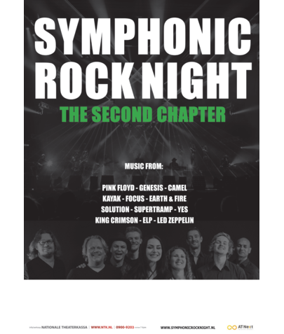 Poster A0 115 gr Blueback (Symphonic Rock Night)