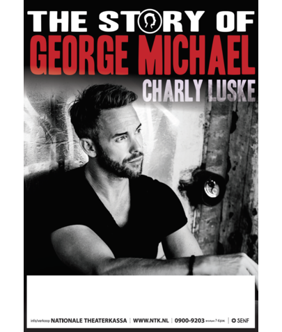 Poster A2 115 gr Blueback (Charly Luske - The Story of George Michael)