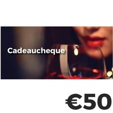 Cadeaucheque €50
