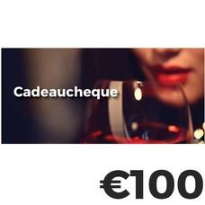Cadeaucheque €100