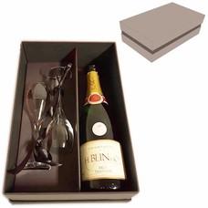 Luxe verpakking Champagne + 2 glazen