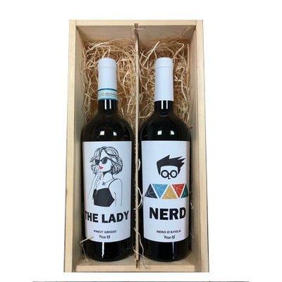 Geschenkduo The Lady & Nerd